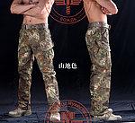 點一下即可放大預覽 -- M號 山地色~蟒蛇迷彩 響尾蛇作戰褲,迷彩褲,長褲
