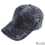 點一下即可放大預覽 -- 警黑色~蟒蛇迷彩 響尾蛇戰鬥帽,小帽,棒球帽