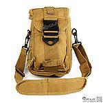 點一下即可放大預覽 -- 沙色~十字軍側背包,雜物包
