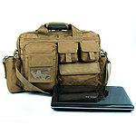 點一下即可放大預覽 -- 泥色~19吋戰術勤務電腦包,公事包