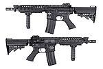 點一下即可放大預覽 -- 【展示品出清特惠$6000】King Arms M4 VIS Carbine  電動槍,電槍《買再送一個ACU彈匣》