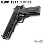 點一下即可放大預覽 -- 限量優惠!KWC 柯特 1911 MODEL 手拉空氣槍,空氣手槍,空氣槍,BB槍