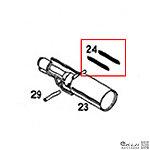 點一下即可放大預覽 -- KSC MP7A1 瓦斯槍零件 (零件編號#24,1入)
