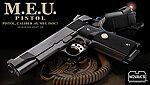 點一下即可放大預覽 -- 日本原裝 馬牌 MARUI MEU  瓦斯槍,手槍 <下標前請先詢問庫存>