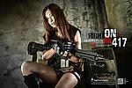 """點一下即可放大預覽 -- VFC HK417 12"""" GBBR 金屬瓦斯氣動槍,瓦斯槍"""