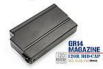 點一下即可放大預覽 -- 怪怪 G&G GR14 M14 專用靜音彈匣,無聲彈夾(120發)(G-08-130)
