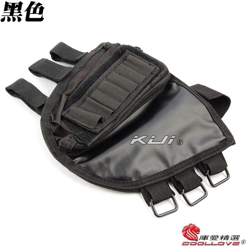 黑色~特戰槍托貼腮護套,保護套~保護你的槍托不會被刮傷(固定托長槍,電動槍,電槍,BB槍用)