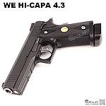 特價!限量優惠!競技原版~WE HI-CAPA 4.3 全金屬 CO2手槍