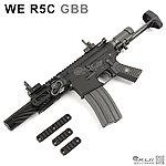 點一下即可放大預覽 -- 特價!WE R5C GBB 全金屬瓦斯氣動槍,CQB利器!