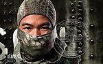 點一下即可放大預覽 -- 山地色~蟒蛇迷彩 面罩 忍者頭套 防護 重機 全套 頭罩