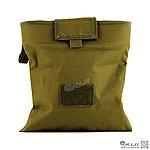點一下即可放大預覽 -- OD軍綠色~折疊式彈匣回收袋,彈夾收納袋