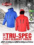 點一下即可放大預覽 -- M號 亮紅色 TRU-SPEC 三合一極地外套
