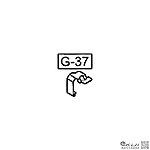 點一下即可放大預覽 -- WE G17 G18C 下壓彈簧片 (零件#G-37)(新版) 克拉克系列通用