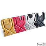 點一下即可放大預覽 -- SRC Aluminum stand 鋁合金兩用槍架 (4入裝,銀/黃/紅/黑),手槍架