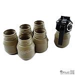 點一下即可放大預覽 -- 台製 專利 遊戲用 沙色~C47 瓦斯式音爆手榴彈(附20個外殼)