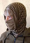 點一下即可放大預覽 -- 美國正品 MSM 戰術猴子 Mil-Spec Monkey (阿拉伯方巾圖案-沙色) 多用途魔術圍巾