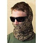 點一下即可放大預覽 -- 美國正品 MSM 戰術猴子 Mil-Spec Monkey (斯巴達頭盔圖案-沙色) 多用途魔術圍巾