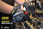 點一下即可放大預覽 -- L號 黑色~Mechanix FastFit 戰術強化手套(正品)
