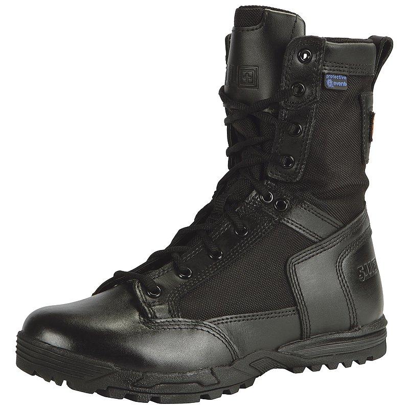 8號 黑色 5.11 超輕量防水拉鍊軍靴 戰術靴 高筒靴 戰鬥鞋