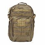 點一下即可放大預覽 -- 沙色 5.11 正品 RUSH 12 高性能 多用途 攻擊 勤務背包