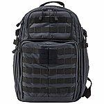 點一下即可放大預覽 -- 戰灰色 5.11 正品 RUSH 24  高性能 多用途 攻擊 勤務背包
