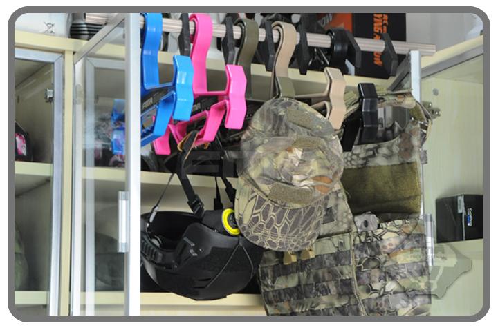 黑色~FMA 重裝級戰術衣架,曬衣架