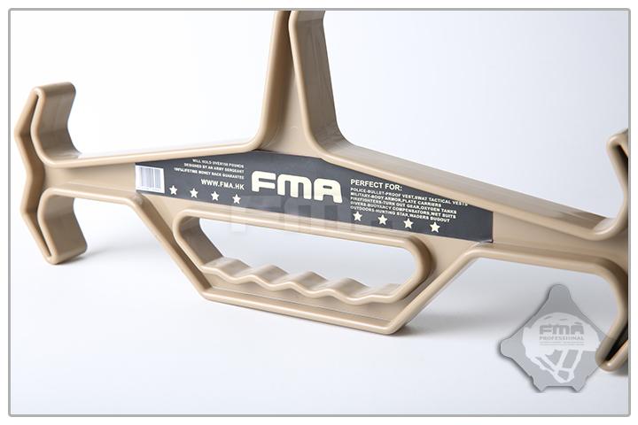 DE色~FMA 重裝級戰術衣架,曬衣架