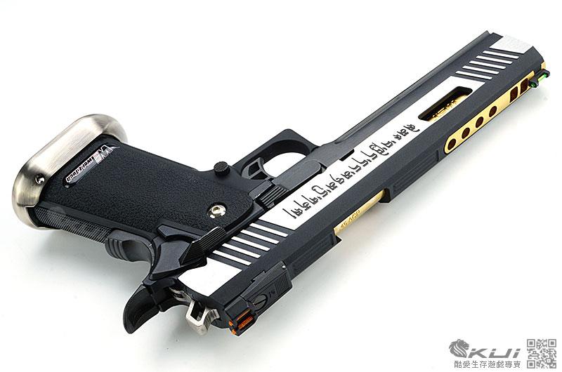 限量優惠!刻字版~WE 原力系列HI-CAPA 6吋龍(金外管) 全金屬瓦斯槍,手槍,BB槍