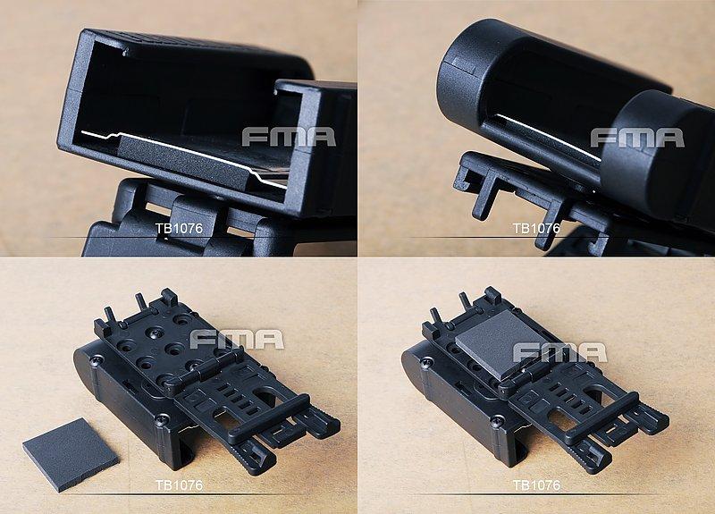 FMA SHOT SHELL HOLDER(TB1076) 快拔散彈彈殼架 (可4入裝),不含彈殼