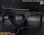限量優惠!黑色 SRU G18 SR-PDW-P3 GBB 瓦斯槍,衝鋒槍