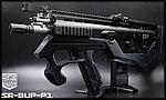 限量優惠!黑色 SRU SCAR-L(黑色) SR-BUP-P1 GBB 瓦斯槍,衝鋒槍