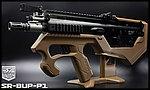限量優惠!沙色 SRU SCAR-L(黑色) SR-BUP-P1 GBB 瓦斯槍,衝鋒槍