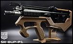 ���q�u�f�I�F�� SRU SCAR-L(�¦�) SR-BUP-P1 GBB �˴��j�A�ľW�j