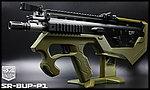 限量優惠!軍綠色 SRU SCAR-L(黑色) SR-BUP-P1 GBB 瓦斯槍,衝鋒槍