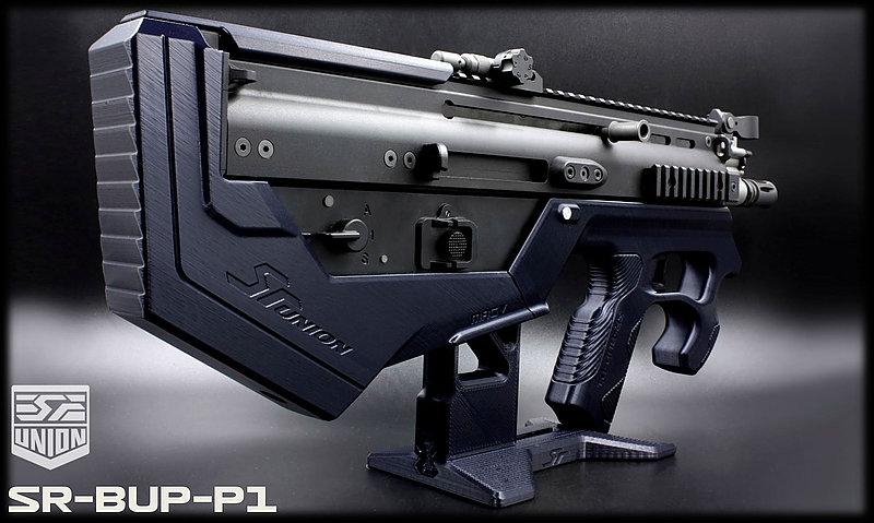 特價!限量優惠!海軍藍 SRU SCAR-L(黑色) SR-BUP-P1 GBB 瓦斯槍,衝鋒槍