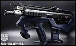 限量優惠!海軍藍 SRU SCAR-L(黑色) SR-BUP-P1 GBB 瓦斯槍,衝鋒槍