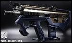 點一下即可放大預覽 -- 限量優惠!海軍藍 SRU SCAR-L(沙色) SR-BUP-P1 GBB 瓦斯槍,衝鋒槍
