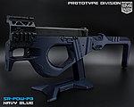 限量優惠!海軍藍色 SRU G18 SR-PDW-P3 GBB 瓦斯槍,衝鋒槍