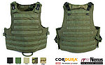 點一下即可放大預覽 -- M號 OD綠~警星 軍警戰術裝備 M.O.D. II  戰術模組背心,抗彈背心