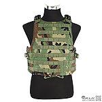 點一下即可放大預覽 -- M號 叢林迷彩~警星 軍警戰術裝備 M.O.D. II  戰術模組背心,抗彈背心