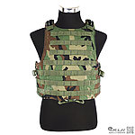 點一下即可放大預覽 -- XL號 叢林迷彩~警星 軍警戰術裝備 M.O.D. II  戰術模組背心,抗彈背心