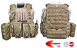 點一下即可放大預覽 -- M號 狼棕色~警星 軍警戰術裝備 R. A. V. 戰術背心,抗彈背心