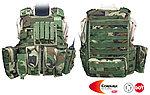 點一下即可放大預覽 -- M號 叢林迷彩~警星 軍警戰術裝備 R. A. V. 戰術背心,抗彈背心