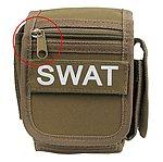 【NG品】沙色~萬用迷彩腰包,勤務掛包,戰術雜物包(特警小組用)