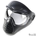 點一下即可放大預覽 -- 黑色~APS 全罩式 防霧防護面罩,面具