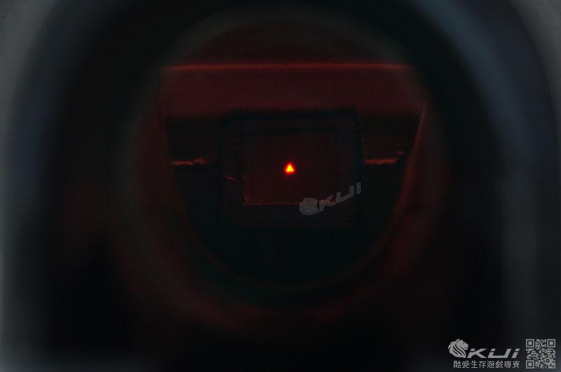 AIM TECH 1x24 自動感光式內紅點快瞄鏡 反射式瞄具