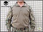 點一下即可放大預覽 -- AOR2 數位叢林 M號~EMERSON 愛默生 青蛙裝,G3 戰術T恤,戰鬥服,上衣(海豹最愛)