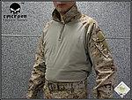 點一下即可放大預覽 -- AOR1 數位沙漠 XL號~EMERSON 愛默生 青蛙裝,G3 戰術T恤,戰鬥服,上衣(海豹最愛)