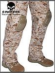 <限量優惠>AOR1 數位沙漠 34腰~EMERSON 愛默生 G3 戰鬥褲,迷彩褲,長褲,休閒褲,戶外褲,登山褲,作戰褲(含護膝)