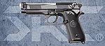 點一下即可放大預覽 -- 雙匣版 SRC SR92 ELITE II 全金屬 瓦斯退膛瓦斯槍(GB-0706),手槍